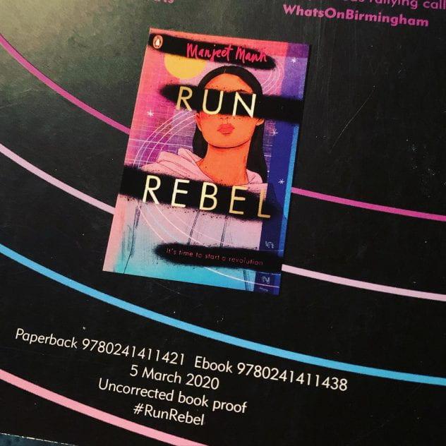 Run, Rebel, by Manjeet Mann