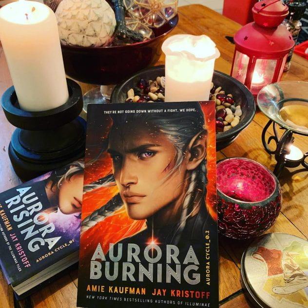 Aurora Burning, by Amie Kaufman and Jay Kristoff