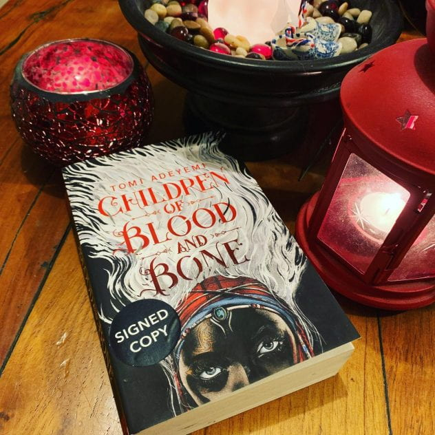 Children of Blood and Bone, by Tomi Adeyemi