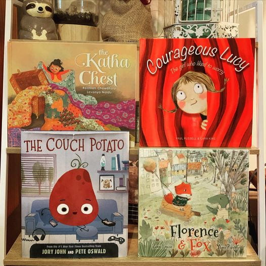 The Katha Chest, Courageous Lucy, The Couch Potato, and Florence and Fox