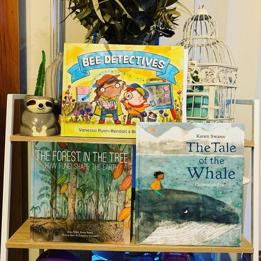 Bee Detectives, The forest in the Tree, and The Tale of the Whale